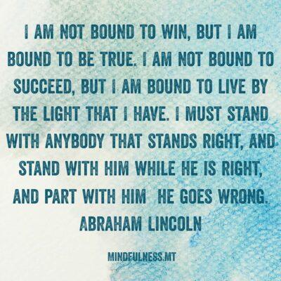 Inspirational Wisdom Quote