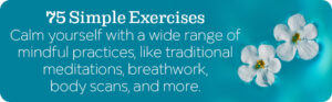 75 Simple Mindful exercises