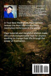 Your Best Meditation Back