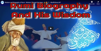 Great Wisdom and Biography of Rumi - Wisdom Through the Ages