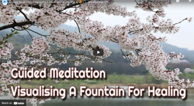 Guided Meditation Visualising A Fountain For Healing