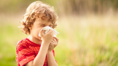 How to Help Your Child in Hay Fever Season