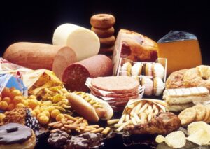 Trans fats and saturated fats
